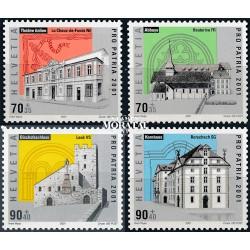 2006 - Suiza Ed 1882/1884 © Usado, Buen Estado. Autobuses. Transportes Públicos (Edifil)