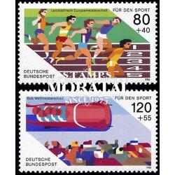 1993 España J-155/156 Orense Leon Entero postales **MNH Perfecto Estado (Edifil)