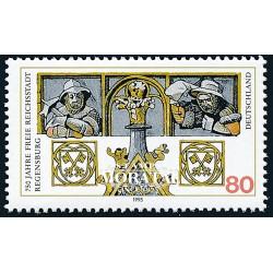 2001 - Francia Yv 3368 ** MNH Perfecto Estado. San Valentín. Corazón Lacroix (Edifil) Personajes