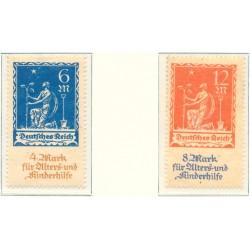 1932 - Francia Yv 277A/279B ** MNH Perfecto Estado. Semeuse (Edifil)