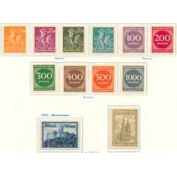 1932 - Francia Yv 280/289 ** MNH Perfecto Estado. Tipo Paz (Edifil)