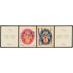 1935 - Francia Yv 307/308 ** MNH Perfecto Estado. Parados Intelectuales (Edifil)