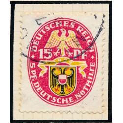 1936 - Francia Yv 312 © Usado, Buen Estado. Hijos de Parados (Edifil)