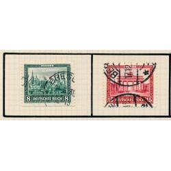 1936 - Francia Yv 316/317 * MH Buen Estado. Monumento a Canadienses (Edifil)