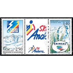 1961 - España Ed 1401/1405 ** MNH Perfecto Estado. Aviación (Edifil) Aviones