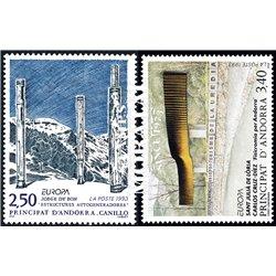 1962 - España Ed 1418/1427 ** MNH Perfecto Estado. Zurbarán (Edifil) Pintura