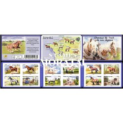 2013 France  Sc# 4369/4380  ** MNH Very Nice. Wildlife. Chavaux de Trait (Scott)