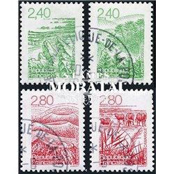 1995 France  Sc# 2479/2482  (o) Used, Nice. Regions (Scott)  Philately