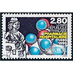 1995 Frankreich Mi# 3110  (o) Gebrauchte, Zustand. Krankenhausapotheke (Michel)  Art