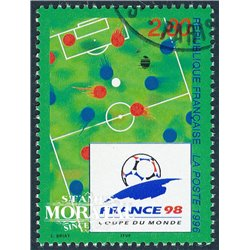 1995 France  Sc# 2503  (o) Used, Nice. World Cup Soccer Championship (Scott)  Art
