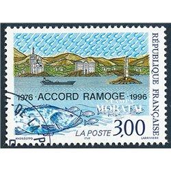 1996 Frankreich Mi# 3151  (o) Gebrauchte, Zustand. Vertrag Ramoge (Michel)  Philatelie