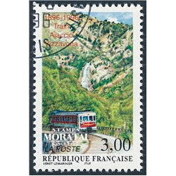 1996 France  Sc# 2539  (o) Used, Nice. Railway journey (Scott)  Tourism
