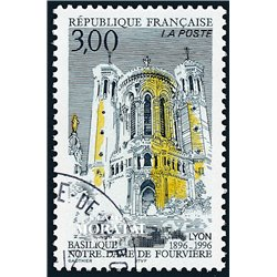1996 France  Sc# 2540  (o) Used, Nice. Notre-Dame (Scott)  Art