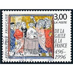 1996 Frankreich Mi# 3166  (o) Gebrauchte, Zustand. Gaule (Michel)  Persönlichkeiten