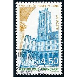 1996 France  Sc# 2542  (o) Used, Nice. Lycée Henri IV (Scott)  Organizations