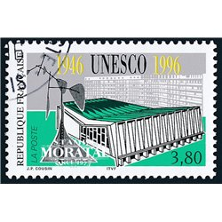 1996 France  Sc# 2545  (o) Used, Nice. UNESCO Anniversary (Scott)