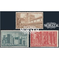 1959 Espagne 939/941  Guadalupe  **MNH TTB Très Beau  (Yvert&Tellier)