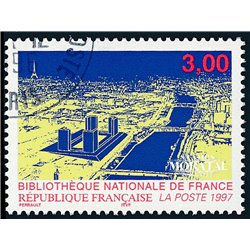 1996 France  Sc# 2551  (o) Used, Nice. National Library (Scott)  Personalities