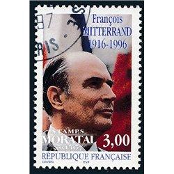 1997 France  Sc# 2552  (o) Used, Nice. François Mitterrand (Scott)