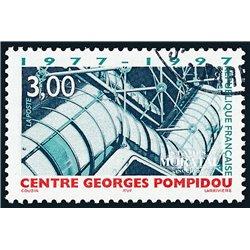 1997 France  Sc# 2554  (o) Used, Nice. Pompidou Center (Scott)