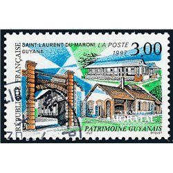 1997 France  Sc# 2558  (o) Used, Nice. San Laurent de Maroni (Scott)  Art