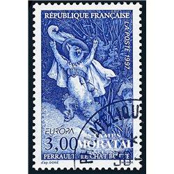 1997 France  Sc# 2573  (o) Used, Nice. Europa (Scott)  Personalities