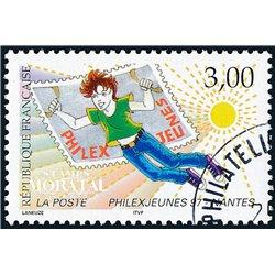 1997 France  Sc# 2574  (o) Used, Nice. Philexjeunes 97 (Scott)