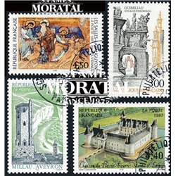 1997 France  Sc# 2563/2565, 2583  (o) Used, Nice. Tourist (Scott)  Generic Series