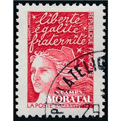 1997 France  Sc# 2595  (o) Used, Nice. Marianne (Scott)  Generic Series