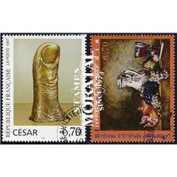 1997 France  Sc# 2561/2562  (o) Used, Nice. Artworks (Scott)  Tourism