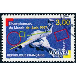 1997 France  Sc# 2611  (o) Used, Nice. Judo World (Scott)
