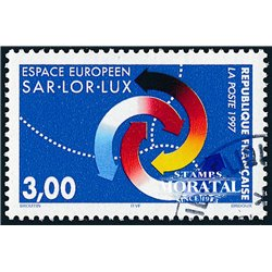 1997 France  Sc# 2613  (o) Used, Nice. European Space (Scott)