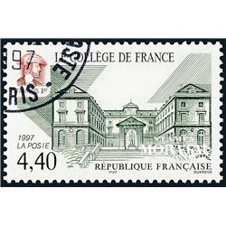 1997 France  Sc# 2614  (o) Used, Nice. College of France (Scott)  Personalities