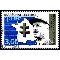 1997 France  Sc# 2619  (o) Used, Nice. Marshal Leclerc (Scott)  Personalities