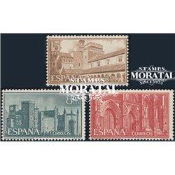 1959 Espagne 939/941  Guadalupe  *MH TB Beau  (Yvert&Tellier)