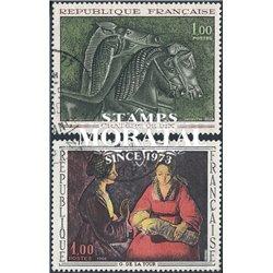 1966 Frankreich Mi# 1541, 1552  (o) Gebrauchte, Zustand. Kunstwerke (Michel)  Art