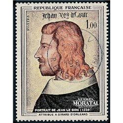 1964 France  Sc# 1084  (o) Used, Nice. Jean II le Bon (Scott)  Personalities