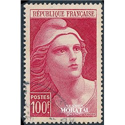1946 France  Sc# 556  (o) Used, Nice. Marianne (Scott)  Shield