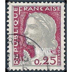 1960 Frankreich Mi# 1316  (o) Gebrauchte, Zustand. Marianne (Michel)  Serie Gene