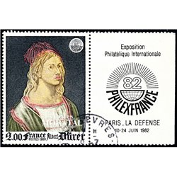 1980 France  Sc# 1688  (o) Used, Nice. Philexfrance 82 (Scott)  Personalities