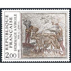1981 France  Sc# 1781  (o) Used, Nice. Viurgile (Scott)  Red Cross