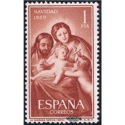 1959 Espagne 942  Noël Noël *MH TB Beau  (Yvert&Tellier)