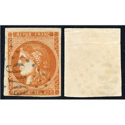 1849 France  Sc# 7a  (o) Used, Nice. Type Ceres 40 c. (Scott)