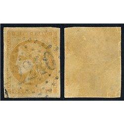 1849 France  Sc# 7b  (o) Used, Nice. Type Ceres 40 c. (Scott)