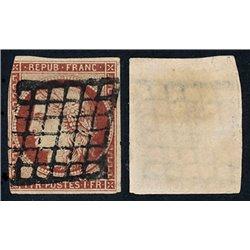 1849 Francia Yv 6  (o) Usado, Buen Estado. Tipo Ceres 1 Fr. (Yvert&Tellier)
