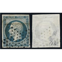 1852 Francia Yv 10  (o) Usado, Buen Estado. Luis Napoleon  (Yvert&Tellier)