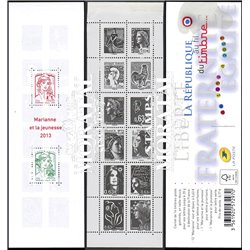 2013 France  Sc# 0  ** MNH Very Nice. Marianne and Youth (Scott)