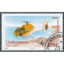 2007 France  Sc# C69  (o) Used, Nice. Helicopter (Scott)