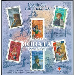 2003 France  Sc# 2976a  (o) Used, Nice. Characters of French literature (Scott)
