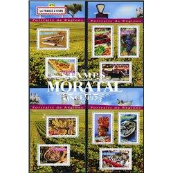 2004 Frankreich Mi# 3791/3800  0. Besteck, Weinberge, Das Brot, die Austern (Michel)
